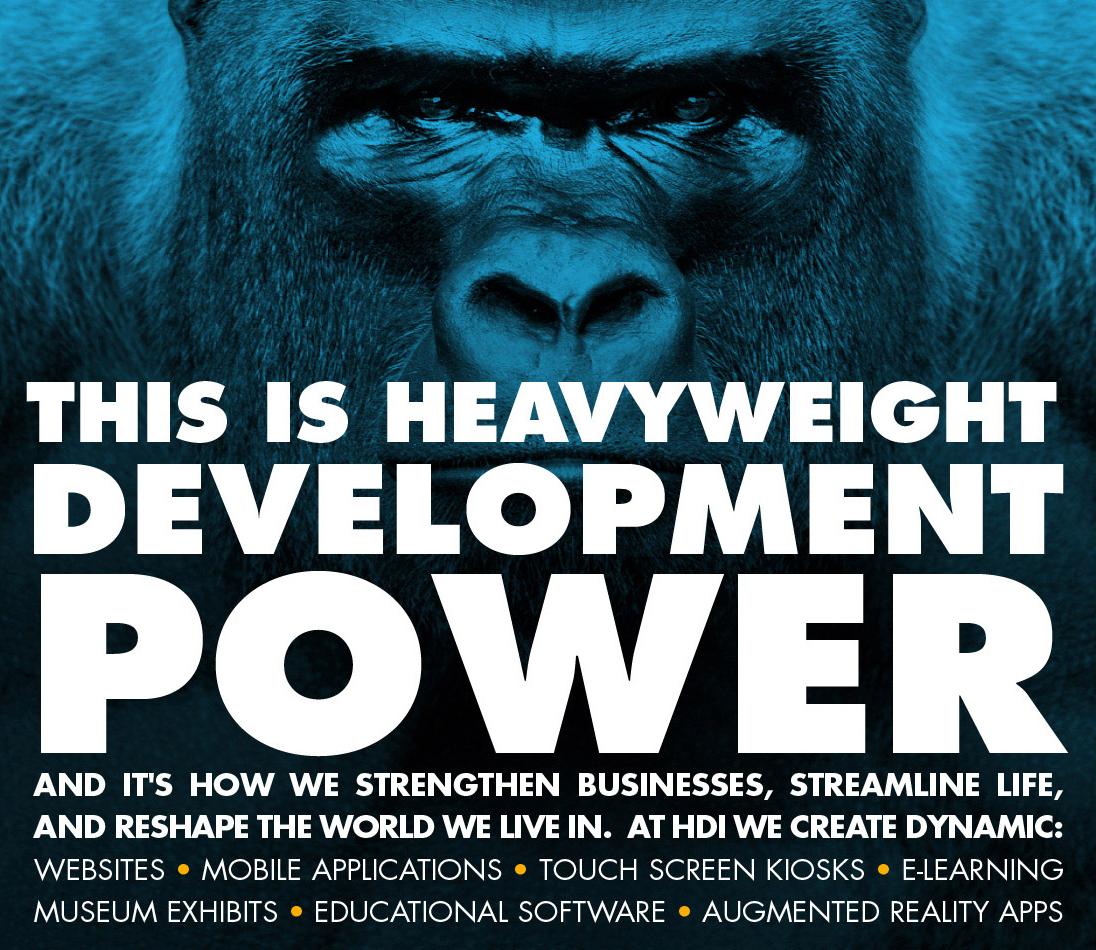 HD Interactive Gorilla ad