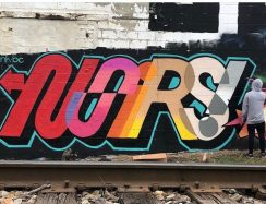 Noirs One mural in St. Pete, Florida